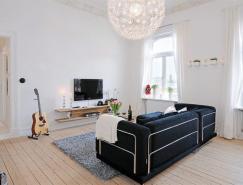 国外一套三居室公寓室内装修澳门金沙网址