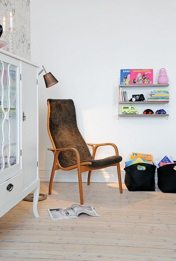 国外一套三居室公寓室内装修设计