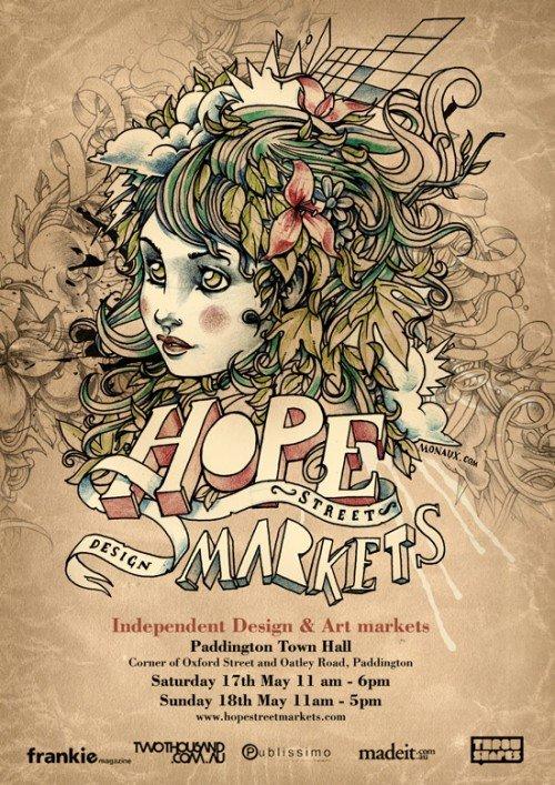 30个出色创意的海报设计