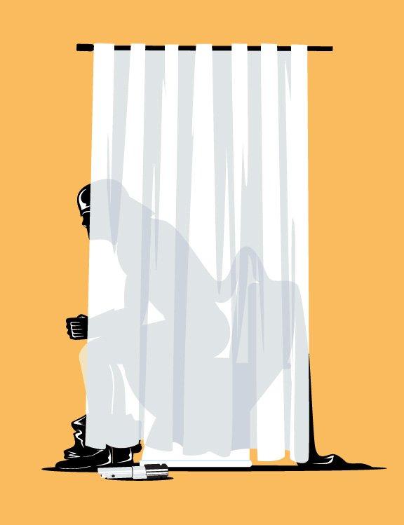 马来西亚ChowHonLam风趣的插画欣赏