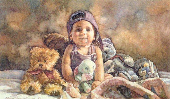 水彩大师steve hanks绘画作品欣赏图片