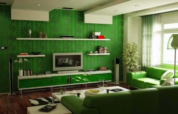 9张国外客厅装修效果图欣赏