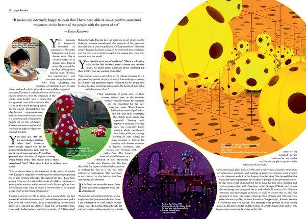 Glass杂志版式设计