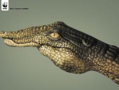 为野生动物出份力:WWF公益广告