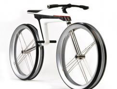 超酷的HMK561碳纤维电力概念脚踏车