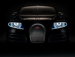 豪华布加迪四门超跑Bugatti16CGalibier