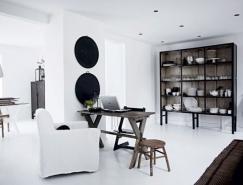 一套白色家居室內設計