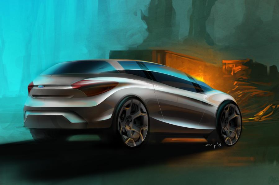 45款手绘概念汽车设计高清图片