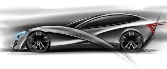 45款手绘概念汽车设计(3)