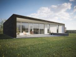 逼真的别墅3D效果图欣赏