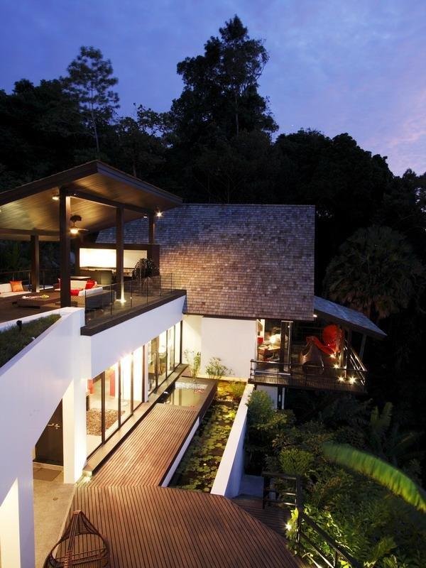 泰国普吉岛漂亮的海景别墅欣赏