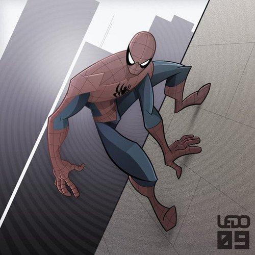 猩红蜘蛛侠漫画