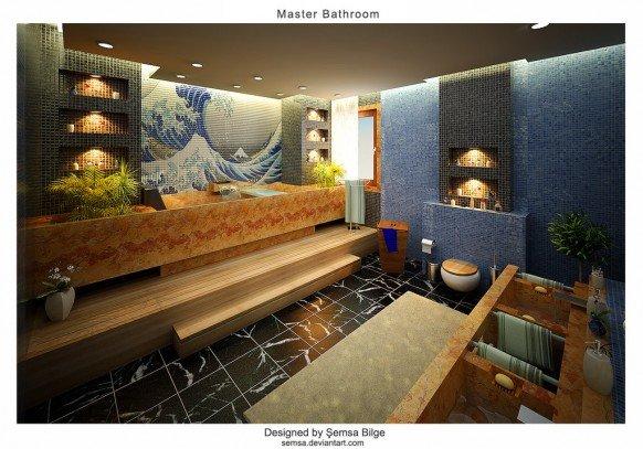 16张浴室设计效果图 - 设计之家