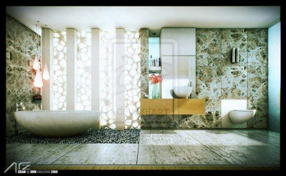 16张浴室设计效果图(2) - 设计之家