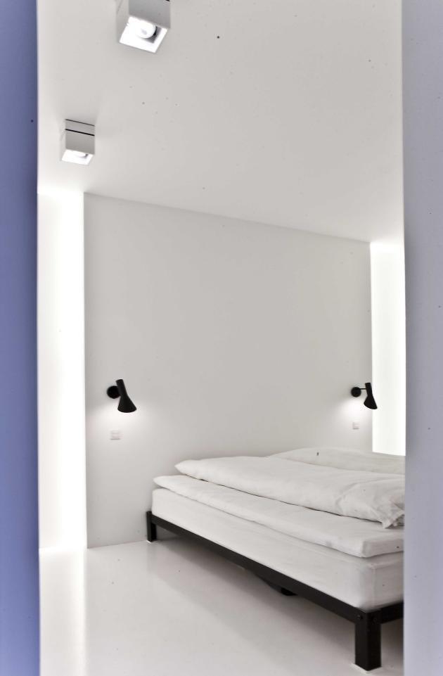 白色简约风格室内装修设计