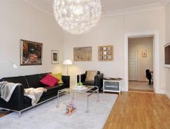 瑞典一套三居室裝修設計