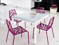 15款时尚亮丽的厨房椅子设计