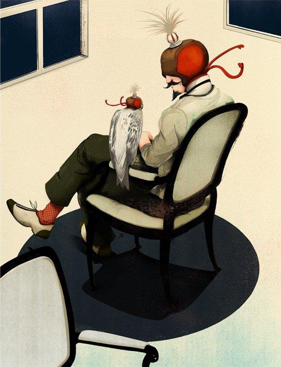 JonathanBartlett插画作品欣赏