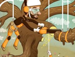 英国插画家AndyWard作品欣赏