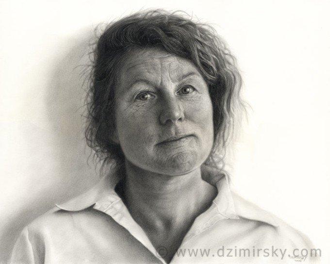 DirkDzimirsky照片级的逼真绘画作品