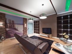 公寓室内设计:享受海岸生活的感觉