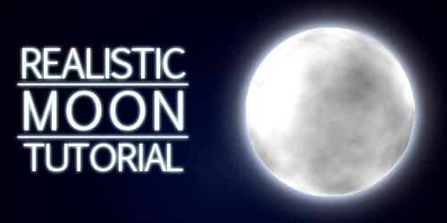 月亮渐变简笔画