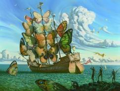 VladimirKush杰出的超现实主义绘画作品