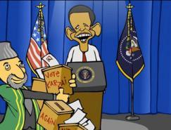 美国漫画家马克·费奥里赢得普利策新闻奖社论漫画奖