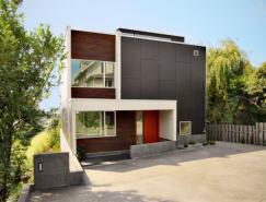 国外一套两层住宅效果图设计
