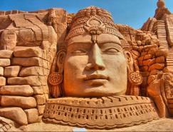 富有创意和吸引力的沙雕艺术作品