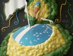 CarlonMeira的彩色纸雕艺术