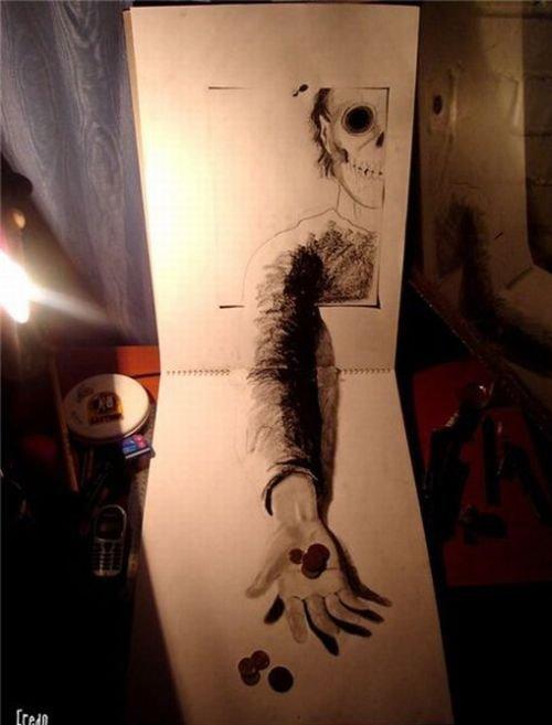 意大利 疯狂的少妇 下载_fredo疯狂的3D铅笔画艺术 - 设计之家