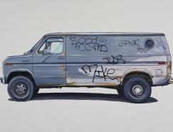 KevinCyr汽車插畫藝術
