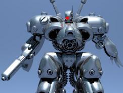 40张精美的人形机器人CG作品