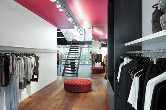 robby ingham服装店室内装修设计 - 设计之家