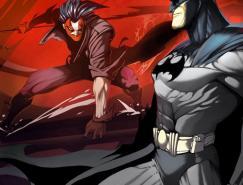 动漫英雄人物:蝙蝠侠插画欣赏(二)