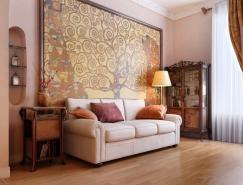 完美的一组室内装修渲染效果图