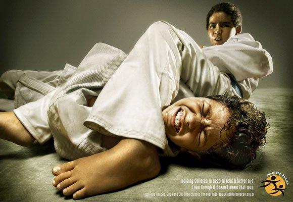 国外可爱的儿童创意广告(5)