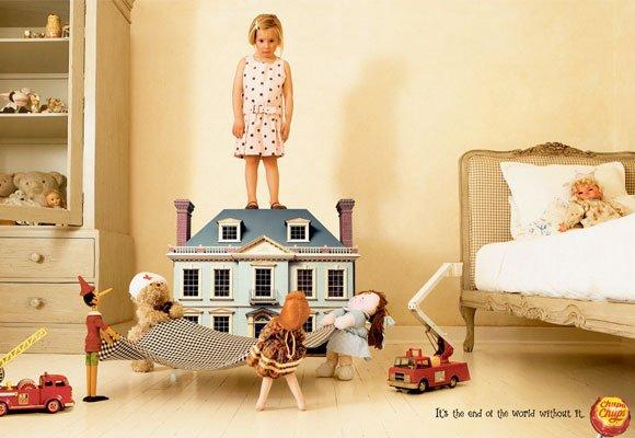 国外可爱的儿童创意广告(7) - 设计之家
