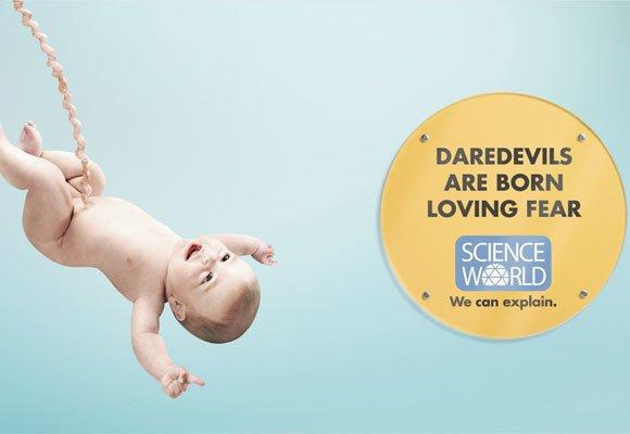 国外可爱的儿童创意广告(8)