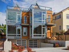 美丽的家:西雅图AlkiTownhome