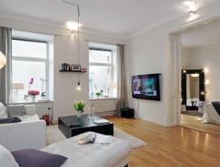 美麗的斯堪的納維亞公寓設計