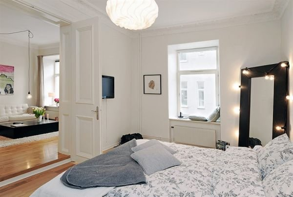 美丽的斯堪的纳维亚公寓设计
