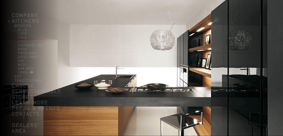 现代意大利厨房设计欣赏
