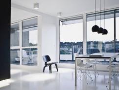 超现代的黑与白:Copenhagen室内设计欣赏