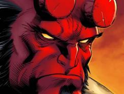 漫画人物地狱男爵(Hellboy)插画作品欣赏