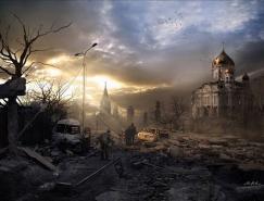 VladimirManyuhin画笔下的末日来临之后的世界