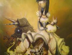 GregSimkins超现实主义绘画作品