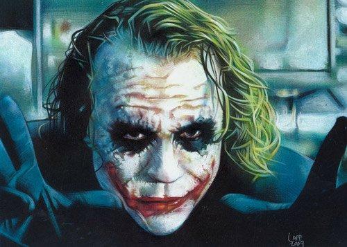 小丑头像 哭泣 伤感