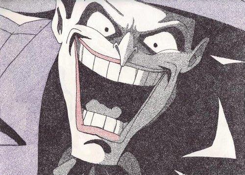 动漫人物:小丑the joker插画欣赏(2)